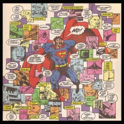 Even Superman gets sensory overload!