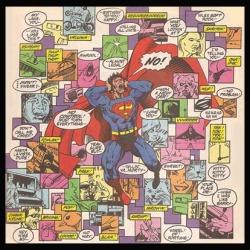 Even Superman gets sensory overload!