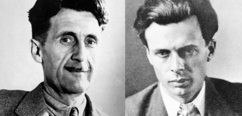 Orwell and Huxley